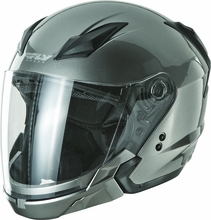 FLY RACING - TOURIST SOLID HELMET TITANIUM