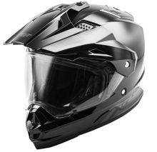 FLY RACING - TREKKER SOLID HELMET BLACK