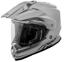 FLY RACING - TREKKER SOLID HELMET SILVER