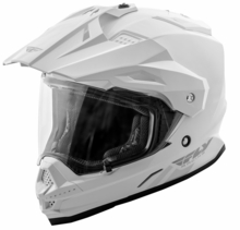 FLY RACING - TREKKER SOLID HELMET WHITE