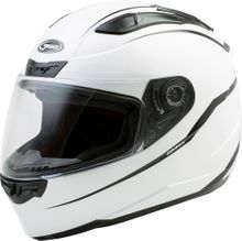 GMAX - FF-88 FULL-FACE PRECEPT HELMET WHITE/BLACK