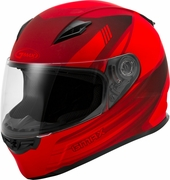 GMAX - FF-49 FULL-FACE DEFLECT HELMET MATTE RED/BLACK