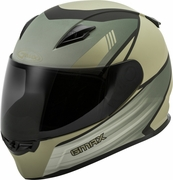 GMAX - FF-49 FULL-FACE DEFLECT HELMET SMK SHIELD MATTE TAN/KHAKI