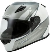 GMAX - FF-49 FULL-FACE DEFLECT HELMET WHITE/GREY