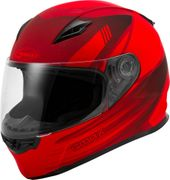 GMAX - YOUTH GM-49Y FULL-FACE DEFLECT HELMET MATTE RED/BLACK