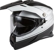 GMAX - AT-21 ADVENTURE RALEY HELMET MATTE BLACK/WHITE