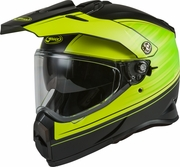 GMAX - AT-21 ADVENTURE RALEY HELMET MATTE BLACK/HI-VIS
