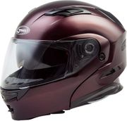 GMAX - MD-01 MODULAR HELMET WINE RED