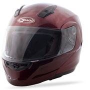 GMAX - MD-04 MODULAR HELMET WINE RED