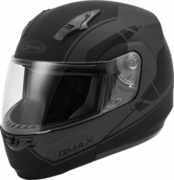 GMAX - MD-04 MODULAR ARTICLE HELMET MATTE BLACK/GREY