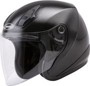 GMAX - OF-17 OPEN-FACE HELMET BLACK