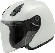 GMAX - OF-17 OPEN-FACE HELMET PEARL WHITE