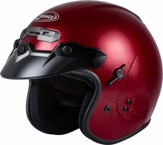 GMAX - GM-32 OPEN-FACE HELMET CANDY RED