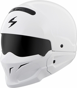 SCORPION EXO - COVERT OPEN-FACE HELMET GLOSS WHITE