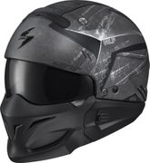 SCORPION EXO - COVERT OPEN-FACE HELMET INCURSION BLACK