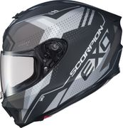 SCORPION EXO - EXO-R420 FULL-FACE HELMET SEISMIC MATTE DARK GREY