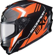 SCORPION EXO - EXO-R420 FULL-FACE HELMET SEISMIC ORANGE