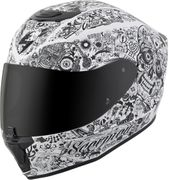 SCORPION EXO - EXO-R420 FULL-FACE HELMET SHAKE WHITE