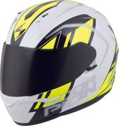 SCORPION EXO - EXO-R320 FULL-FACE HELMET ENDEAVOR WHITE/NEON