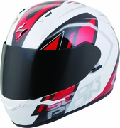 SCORPION EXO - EXO-R320 FULL-FACE HELMET ENDEAVOR WHITE/RED