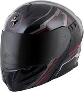 SCORPION EXO - EXO-GT920 MODULAR HELMET SATELLITE RED