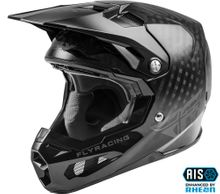 FLY RACING - FORMULA CARBON SOLID HELMET BLACK CARBON