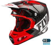 FLY RACING - FORMULA CARBON VECTOR HELMET RED/WHITE/BLACK