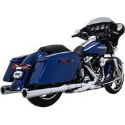 Vance & Hines Power Duals Headpipes - Chrome