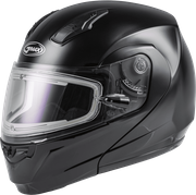 GMAX - MD-04S MODULAR SNOW HELMET W/ELECTRIC SHIELD BLACK