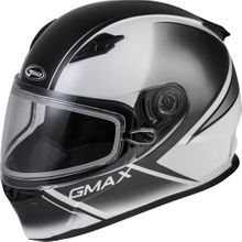 GMAX - FF-49S FULL-FACE HAIL SNOW HELMET WHITE/BLACK