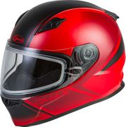 GMAX - YOUTH GM-49Y HAIL SNOW HELMET MATTE RED/BLACK