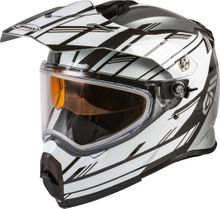 GMAX - AT-21S ADVENTURE EPIC SNOW HELMET SILVER/WHITE/BLACK