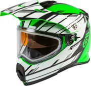 GMAX - AT-21S ADVENTURE EPIC SNOW HELMET GREEN/WHITE/BLACK