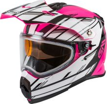GMAX - AT-21S ADVENTURE EPIC SNOW HELMET PINK/WHITE/BLACK