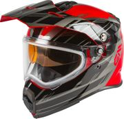 GMAX - AT-21S ADVENTURE EPIC SNOW HELMET RED/BLACK/SILVER