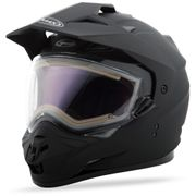 GMAX - GM-11S DUAL-SPORT SNOW HELMET MATTE BLK W/ELECTRIC SHIELD