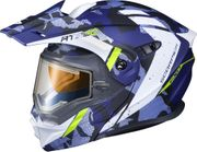 SCORPION EXO - EXO-AT950 COLD WEATHER HELMET OUTRIGGER MATTE BLUE (ELEC)