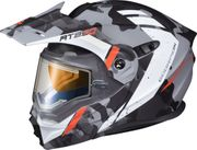 SCORPION EXO - EXO-AT950 COLD WEATHER HELMET OUTRIGGER MATTE GREY (ELEC)