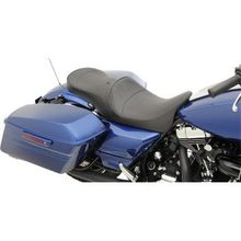 Drag Specialties - Low Touring Seat - Mild Stitched - Driver's Backrest