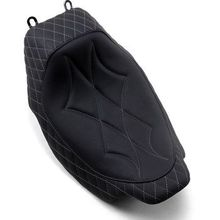 Mustang - Revere Solo Seat - Diamond - Gray Stitched