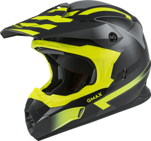 GMAX - MX-86 OFF-ROAD FAME HELMET MATTE DARK GREY/HI-VIS
