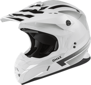 GMAX - MX-86 OFF-ROAD FAME HELMET WHITE/SILVER/GREY
