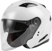 GMAX - OF-77 OPEN-FACE HELMET PEARL WHITE