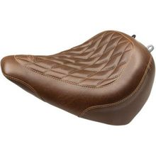 Mustang - Tripper Solo Seat - Diamond - Brown '18-'20 FXBR/FXBRS