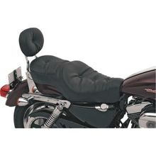 Drag Specialties - Low-Profile Wide Touring Seats - Pillow-Style - '04-'20 XL