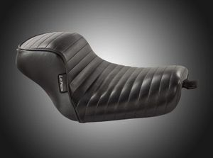 Sprocket Solo Seat- Pleated