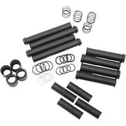 Drag Specialties - Pushrod Tube Kit - Black - Twin Cam