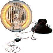 "Headwinds - 7"" Halogen Headlight with LED Turn Signals"