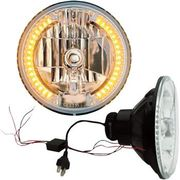 "Headwinds - 7"" LED Headlight with LED Turn Signals"