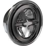 "Drag Specialties - 5.75"" Reflector Style LED Headlamp - Black"